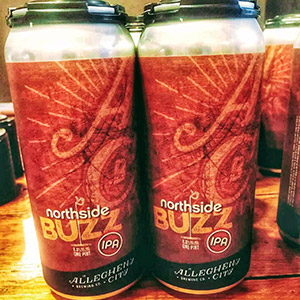 Northside Buzz Coffee IPA Cans